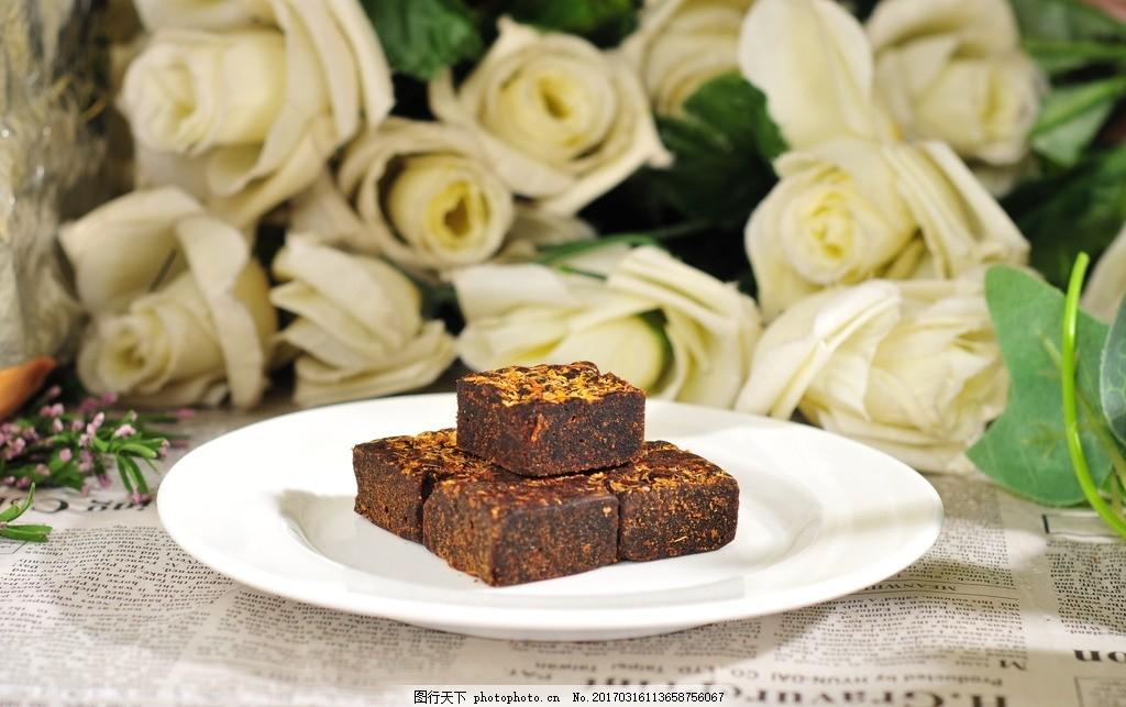 古法红糖 熬制 云南 甘蔗 块状 摄影 餐饮美食 传统美食