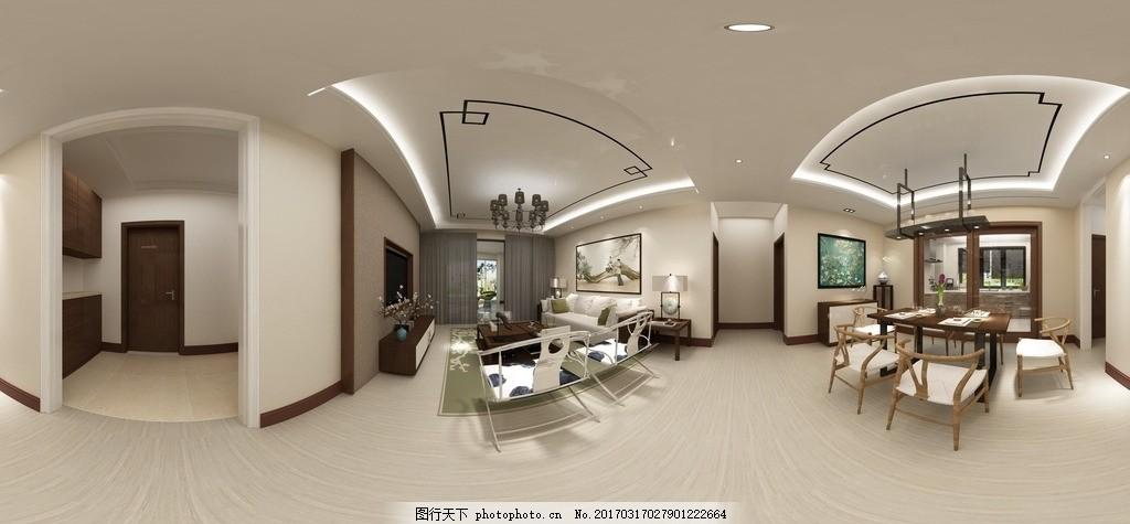 室内全景图 房间 室内摄影 建筑园林 欧式装饰 中式装修 地中海式图片