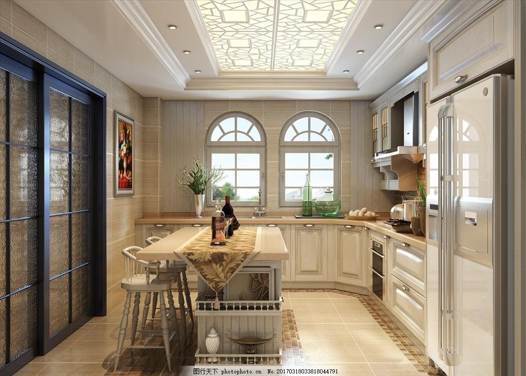 岛台 深色系厨餐厅 中式 新中式 中式厨房 美式 美式厨房 设计 其他