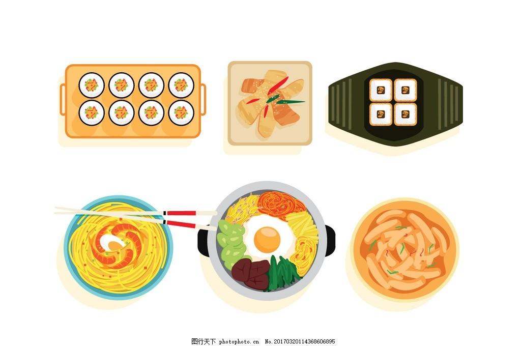 西餐 卡通火锅 厨师素材 厨师 卡通食品 网页banner 卡通餐饮美食