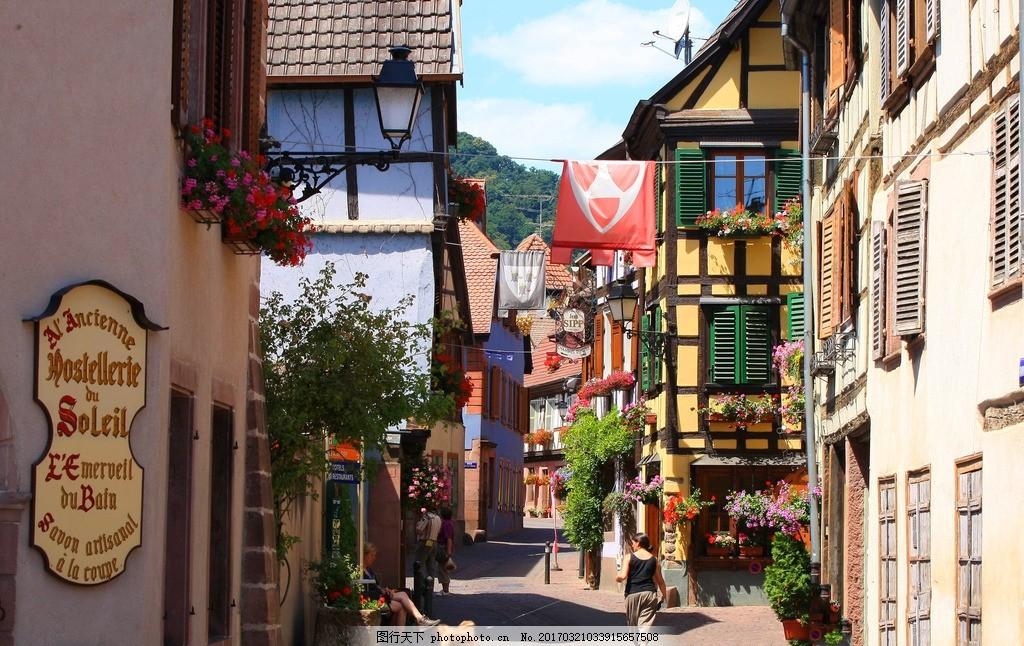 鲜花小镇 风景 风光 国外旅游 风景区 建筑 摄影 旅游摄影 旅游风景