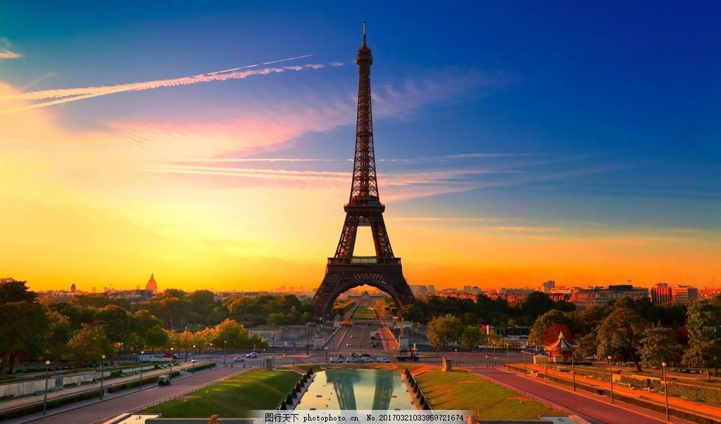 埃菲尔铁塔 风景 风光 国外旅游 风景区 建筑 摄影 旅游风景
