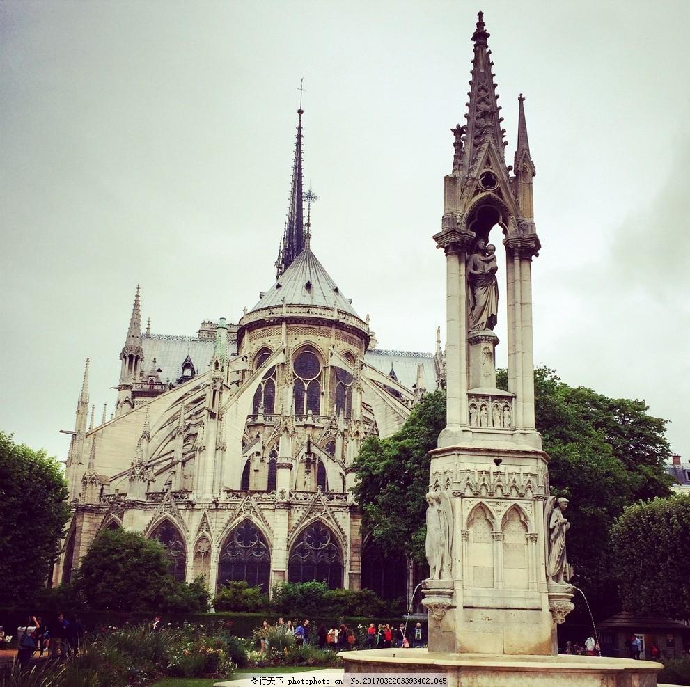法国古堡 风景 风光 国外旅游 风景区 建筑 摄影