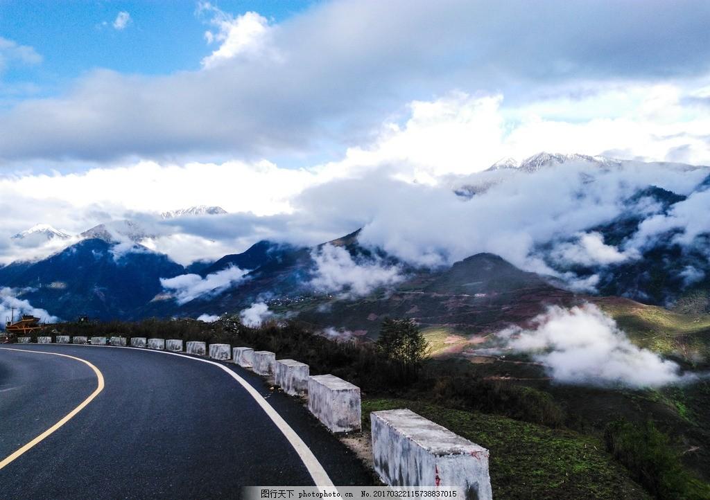 丽江 云南 花草树木 自然景观 摄影 碧罗雪山 自然风景