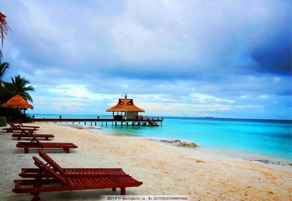 马尔代夫沙滩 旅游 国外旅游 摄影 海洋 海岸 天空 蓝天 热带 新马泰