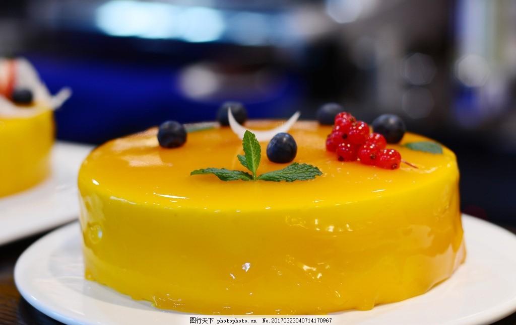 淋面生日蛋糕
