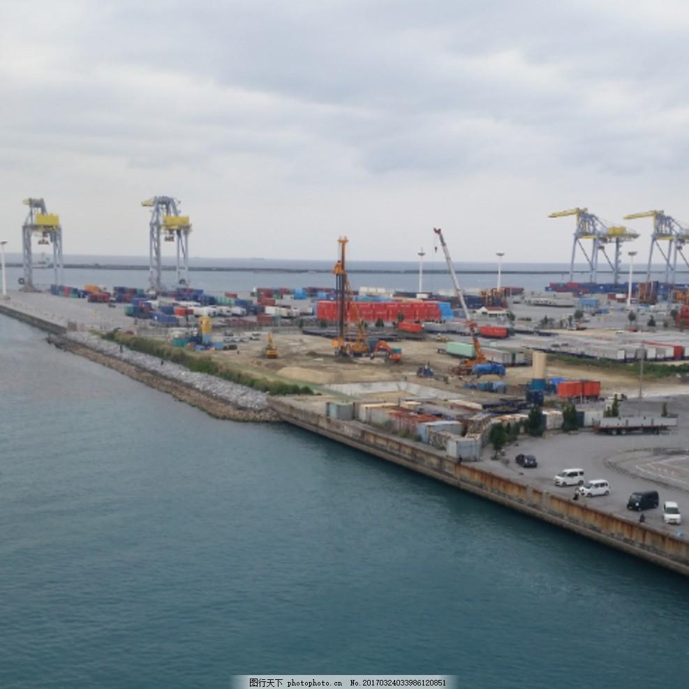 冲绳那霸港口 日本 海洋 摄影 国内旅游