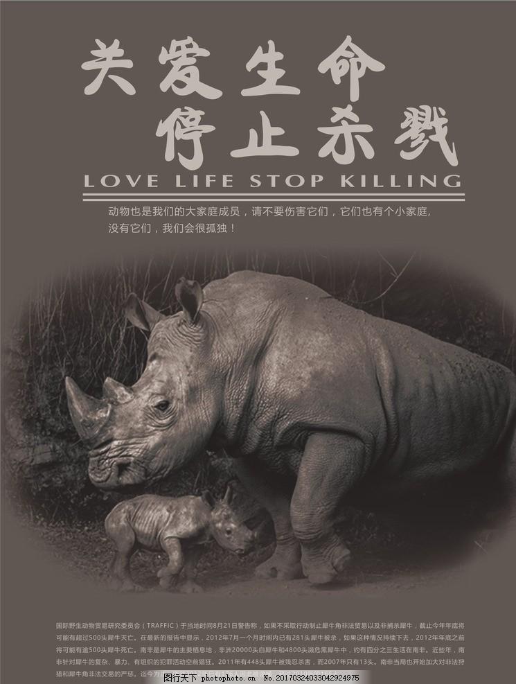 关爱动物 公益 公益宣传 公益海报 爱护动物 海报设计 保护动物