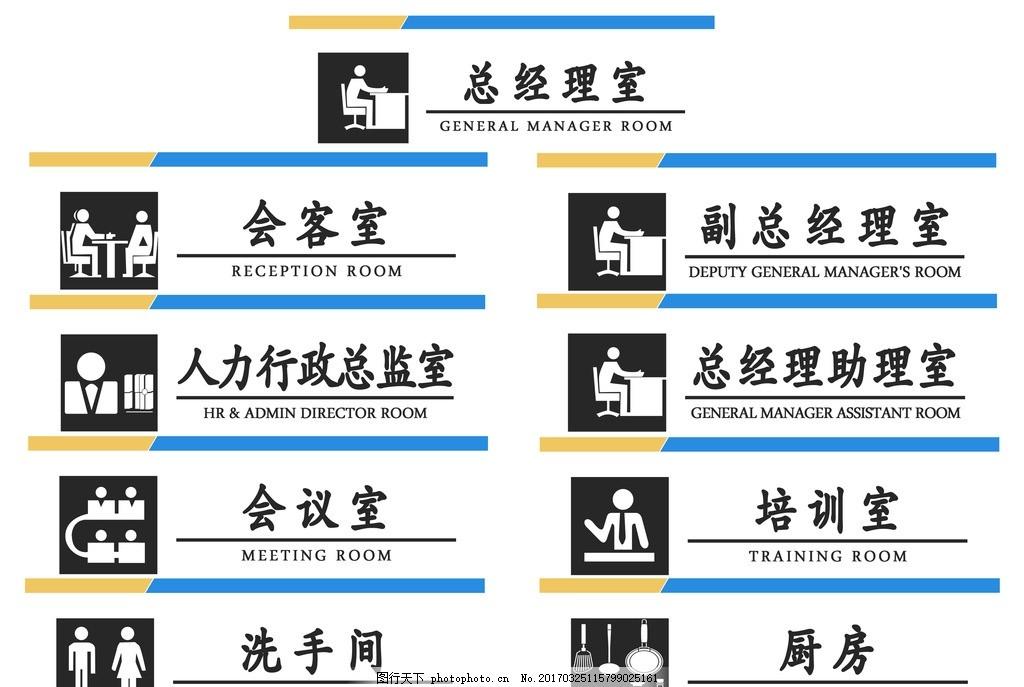 楼层牌 亚克力标牌 导向牌 公共标识标志 创意门牌 门牌设计 办公室图片