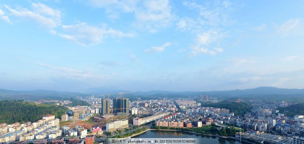 定南县全景图 定南县 高清 全景 照片 摄影 城市 赣州风景 摄影 旅游