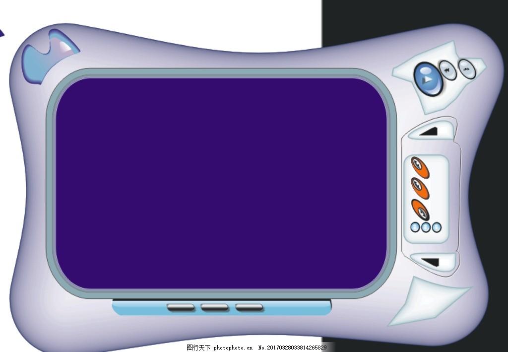 播放器 电器 mp3 音乐播放器 mp4 设计 其他 图片素材 cdr