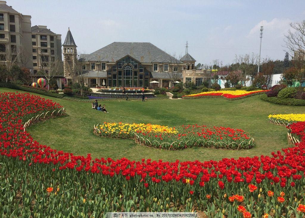 后花园 花园 英伦 广场 美景 户外 摄影 自然景观 自然风景 72dpi jpg