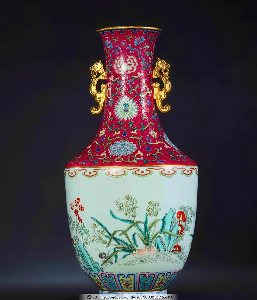 陶瓷 瓷器 古董 古代花瓶 古代瓷瓶 素材 设计 文化艺术 传统文化 72