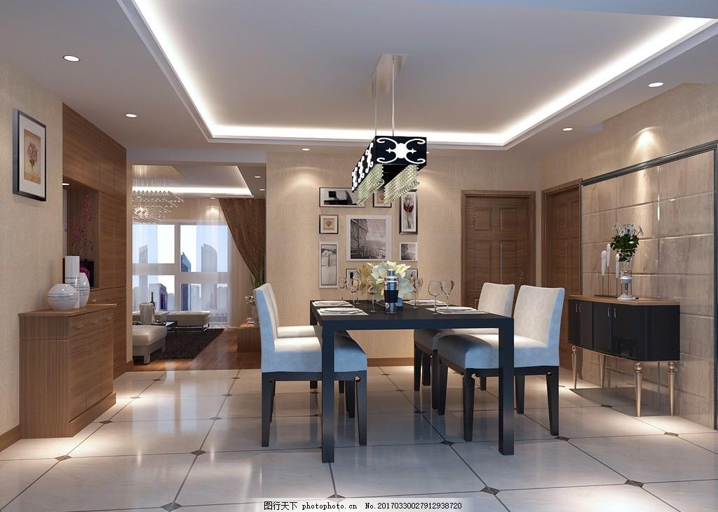 餐厅 鞋柜 装饰柜 酒柜        室内设计 室内效果图 简欧效果图 欧式