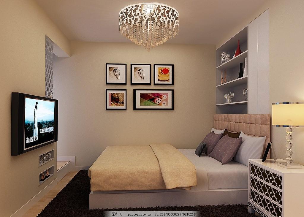 卧室 现代简约 背景墙 客厅吊顶 餐厅吊顶 客餐厅 鞋柜 装饰柜