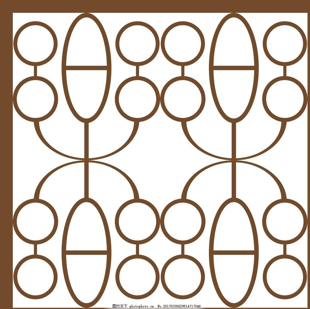 花纹 复古纹 复古花纹 窗户纹 底纹