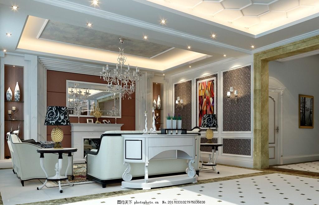 浦东别墅 欧式 古典 白色             设计 环境设计 室内设计 72dpi
