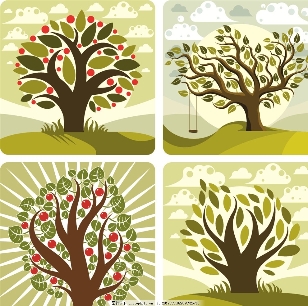 手工制作折纸小树视频