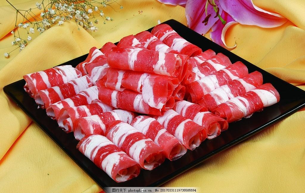 火锅,红枣肥牛卷火锅卷莲藕菜涮菜牛肉卷菜排骨肥牛后羊肉汤吗图片