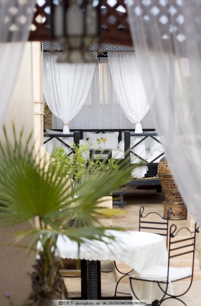 摩洛哥悦椿楼阁,下午茶,摩洛哥美食,泰琼锅羊肉,蒸粗麦粉,庭院餐厅,休闲餐厅